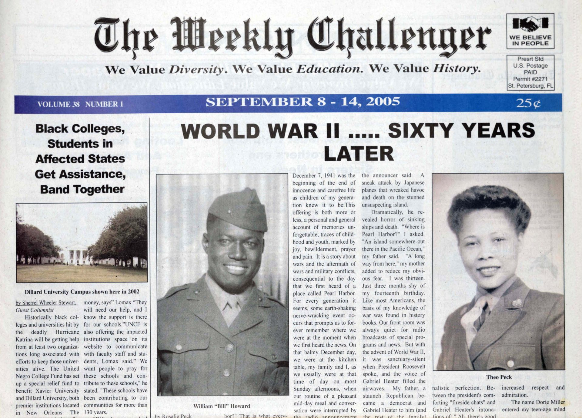 Cover of The Weekly Challenger ne