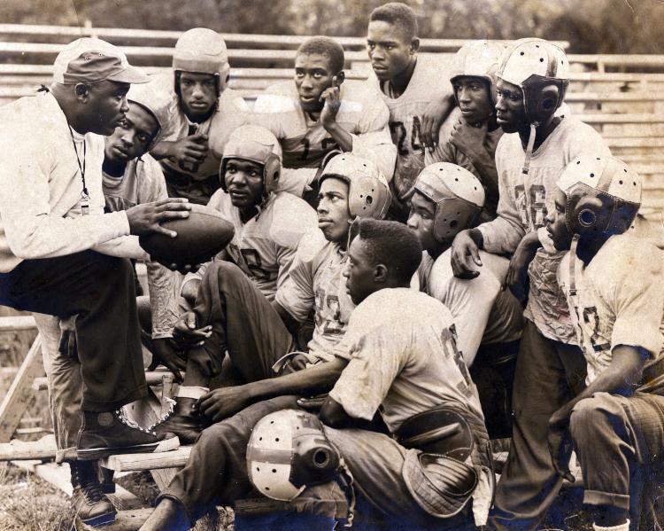 Gibbs High coach and team