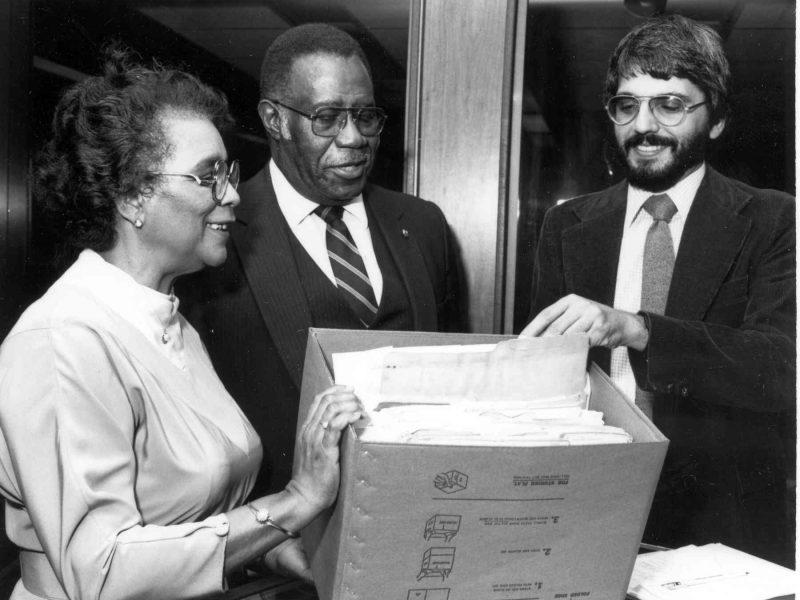 Helen Saunders, Robert Saunders, and Steve Lawson